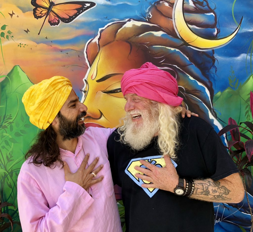 Yogrishi Vishvketu and David-ji